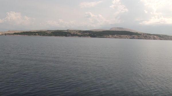 goli otok, pogled