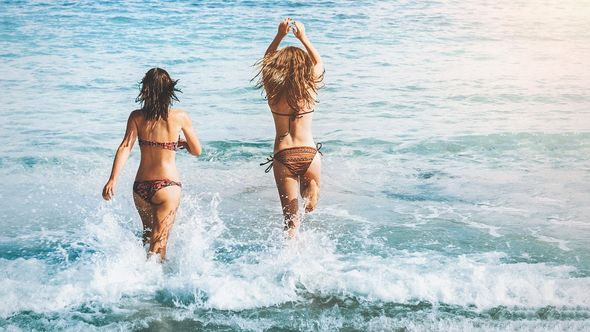 kupanje, more