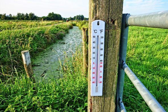 termometar, temperatura, vrućina