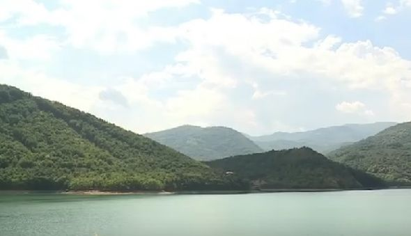 gazivode, jezero