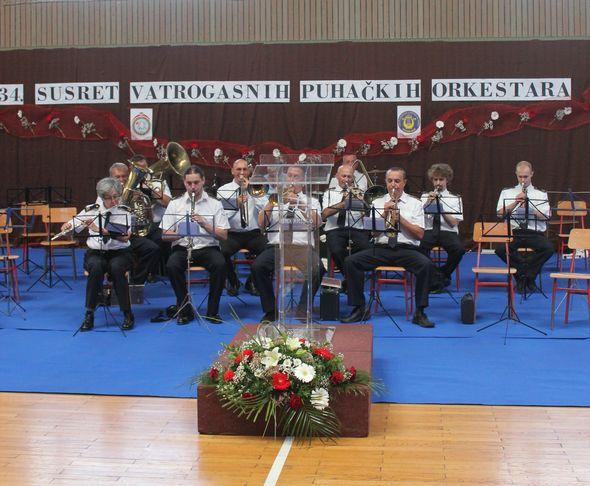puhački orkestar, vatrogasci
