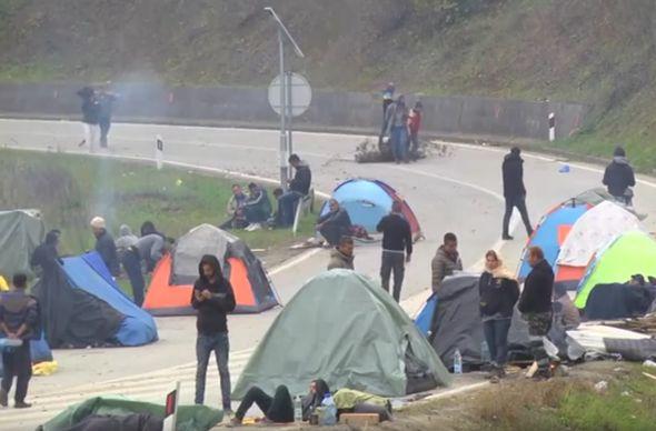 maljevac, migranti