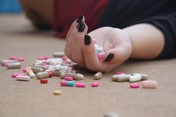 samoubojstvo, tablete