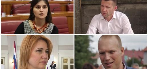 """Oni su samo neki  od """"prebjega"""": Marija Puh, Mario Havek, Milanka Opačić i Tomislav Saucha"""