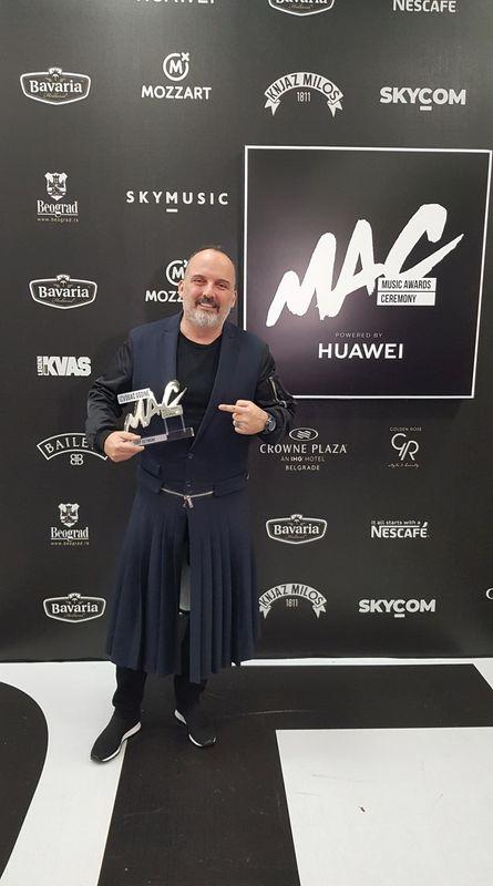 Izvođač Godine Tony Cetinski Je Naj I U Izboru Music Awards