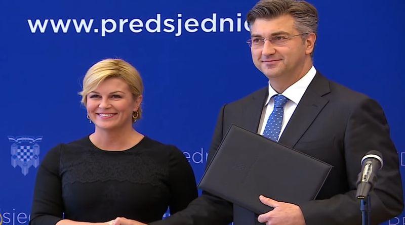 kolinda, plenković