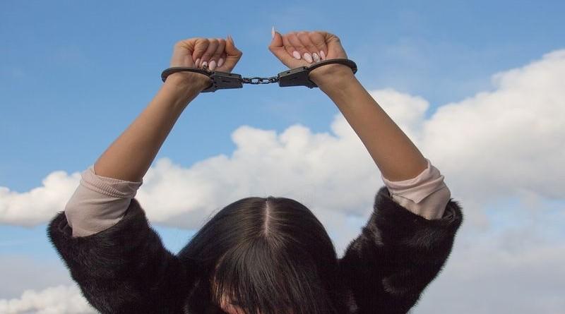 lisice, uhićenje