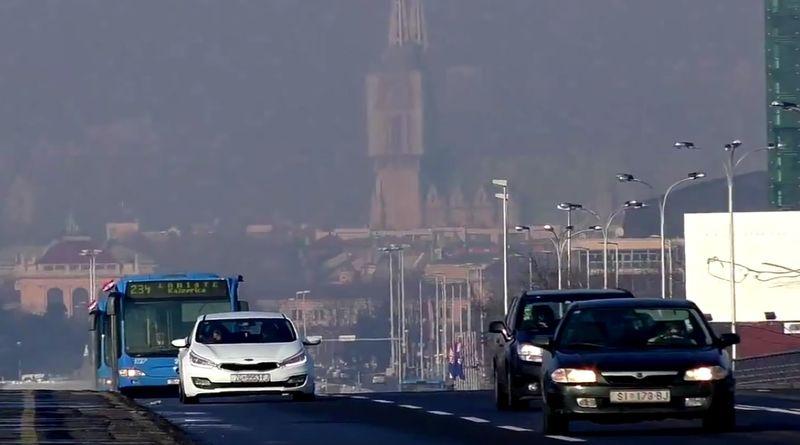 Pogled s Mosta slobode u Zagrebu (Foto: Screenshot)