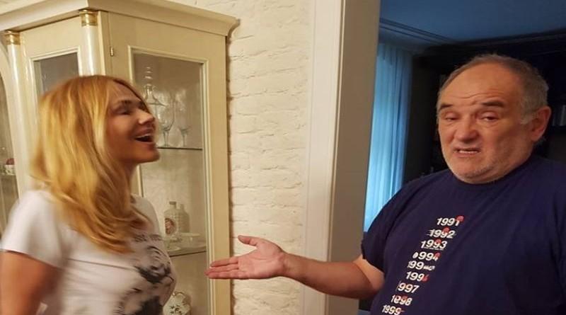 Đorđe sa suprugom Oliverom (Foto: Facebook)