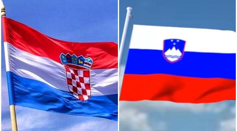 zastava, slovenija, hrvatska