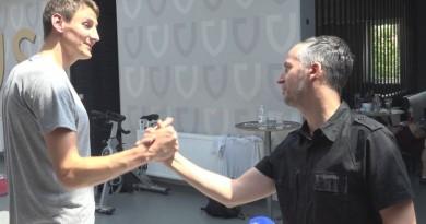 Sjajni vaterpolist u razgovoru s novinarom Tomislavom Pašičekom