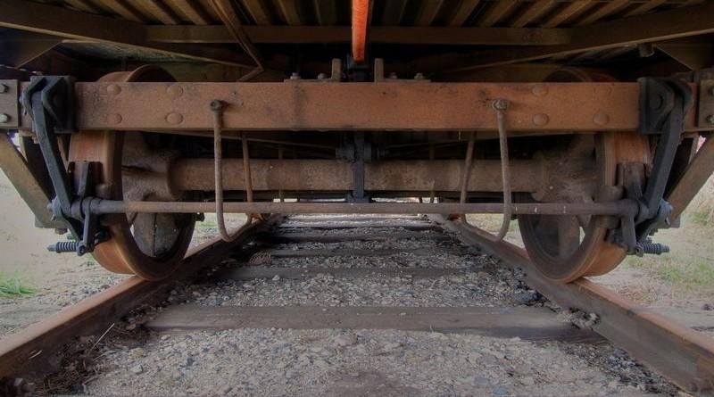 vlak, kotači