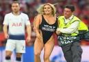 FOTO: RASNA PLAVUŠA – Evo tko je djevojka koja je upala na finale Lige prvaka