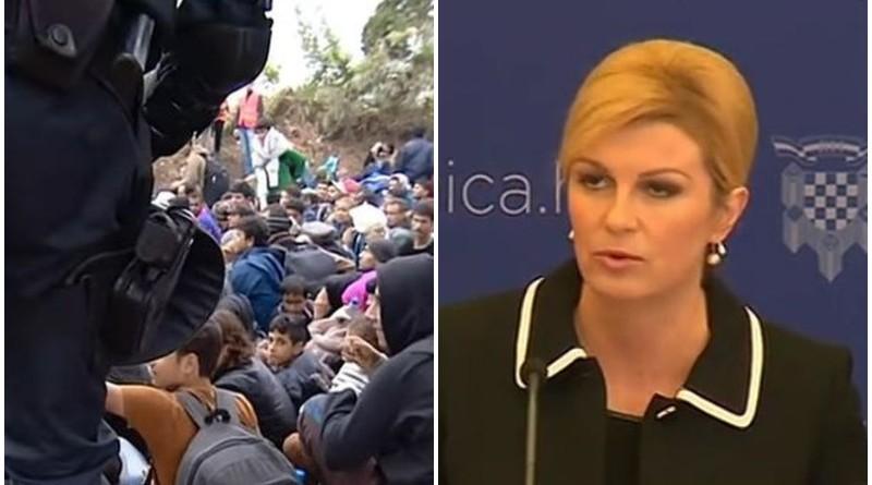 kolinda, migranti