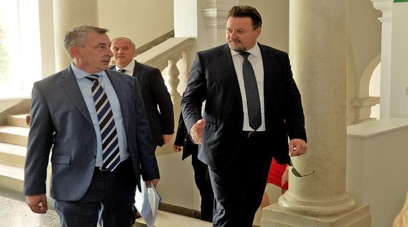 Ministri Kuščević i Štromar Foto: Facebook