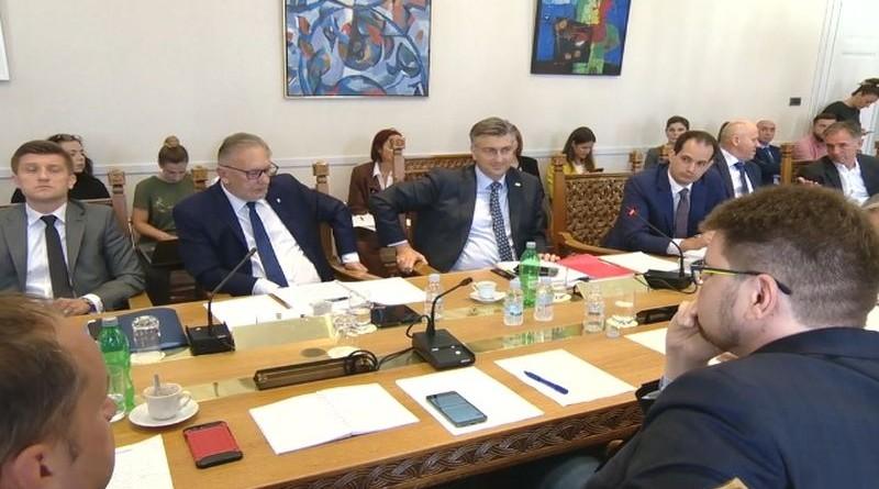 plenković, odobor za ustav