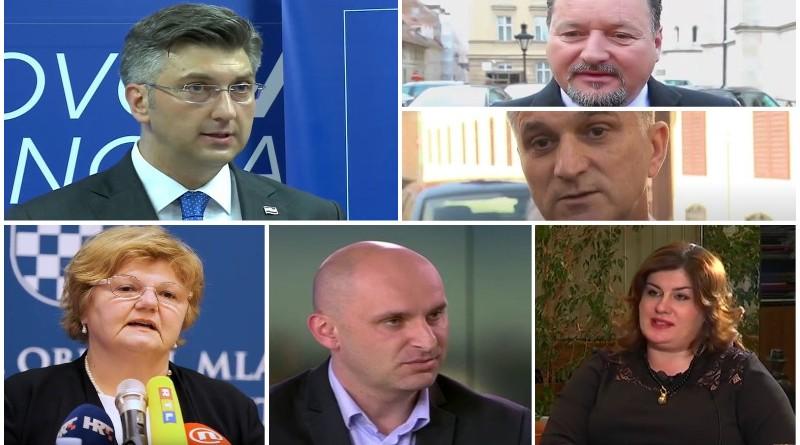 plenković, tolušić, žalac, murganić, kuščević, marić