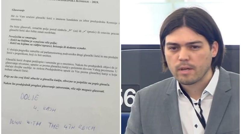 sinčić, glasovanje, europarlament