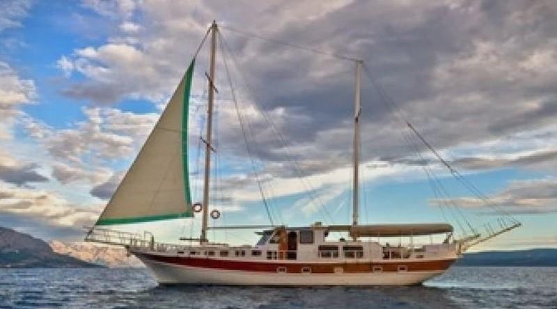 Jedrenjak na kojem su bili nastradali Talijani (Izvor: Atlanta Cruising)