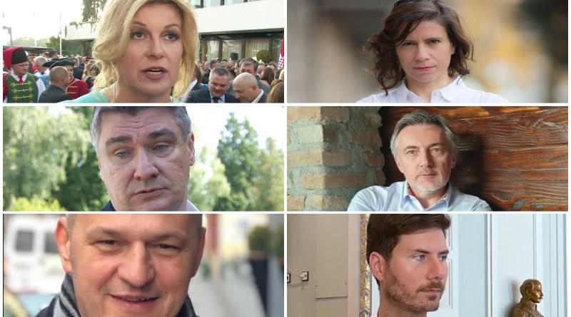 kolinda, škoro, milanović, pernar, peović, kolakušić