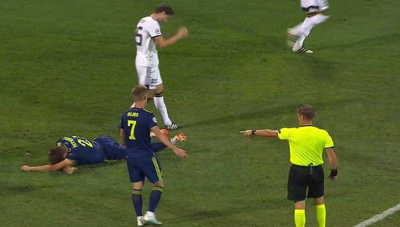 Bio je to kazneni udarac na Petkoviću.