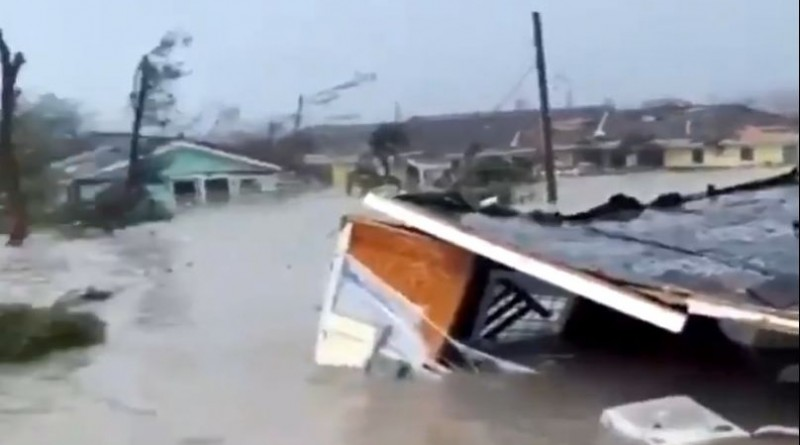 dorian, uragan, bahami