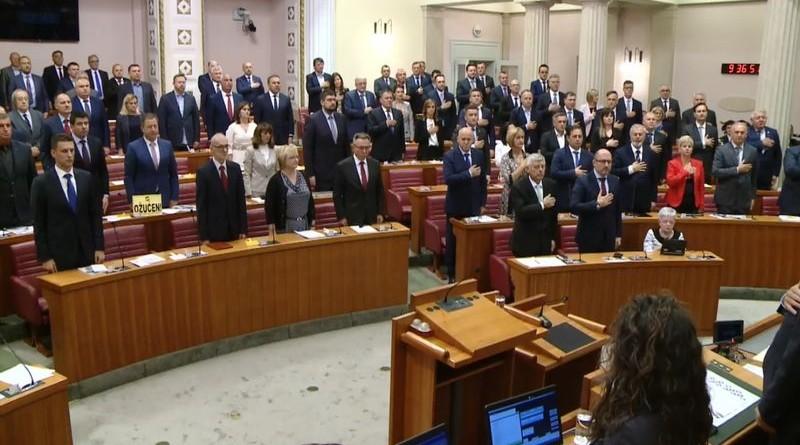 Mješoviti saborski zbor - jedni se drže za srce, dok drugi nemaju srčanih problema