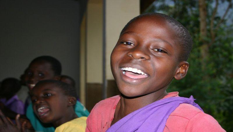 smijeh, afrika, crnkinja