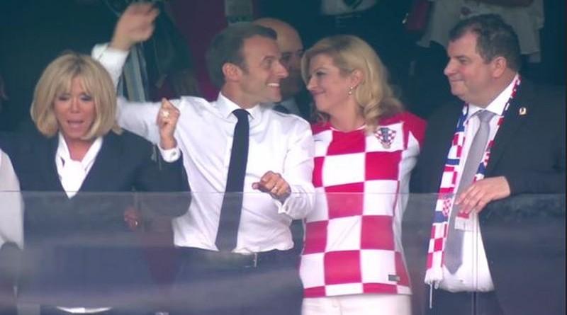 Fotografija s veselja prigodom uspjeha hrvatske nogometne reprezentacije