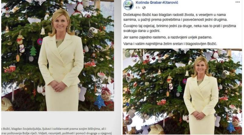 Foto: Facebook/Ured predsjednice