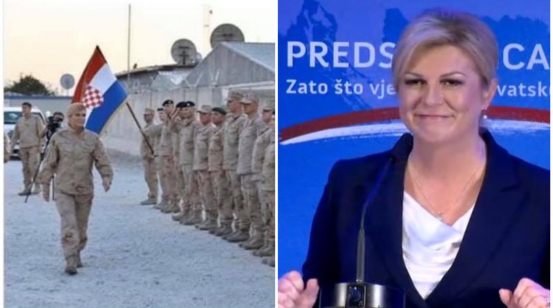 kolinda, hrvatska vojska
