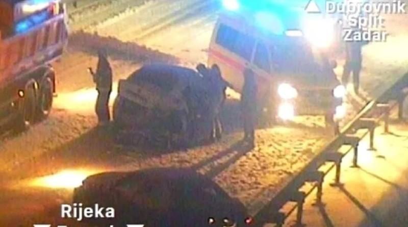 Izvor: Nadzorna kamera autocesta A1