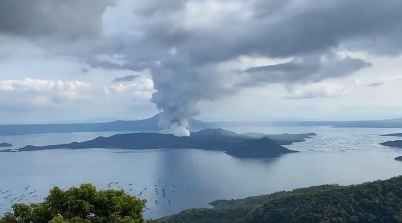 filipini, vulkan