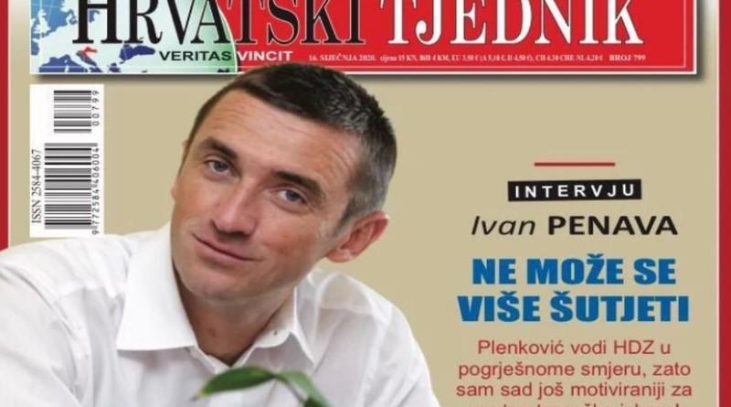 hrvatski tjednik, penava