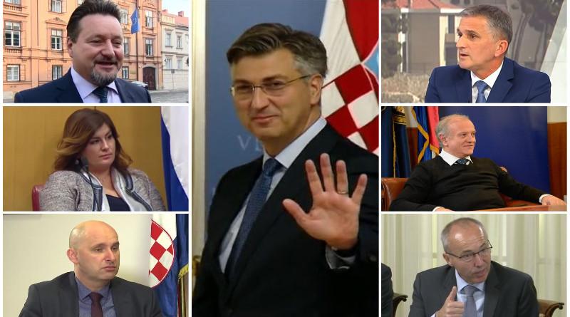 plenković, žalac, krstičević, bošnjaković, tolušić, kuščević, granić