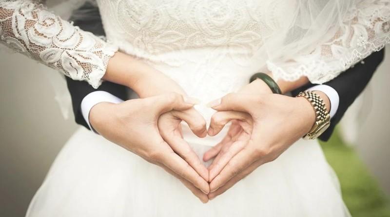 srce, vjenčanje, ljubav
