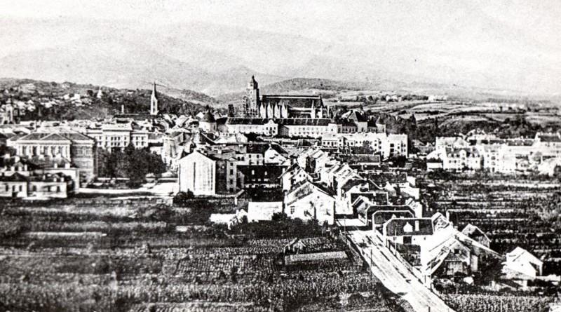 Panorama Zagreba nekada