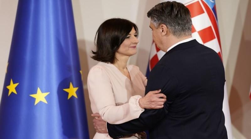 zoran milanović, supruga sanja