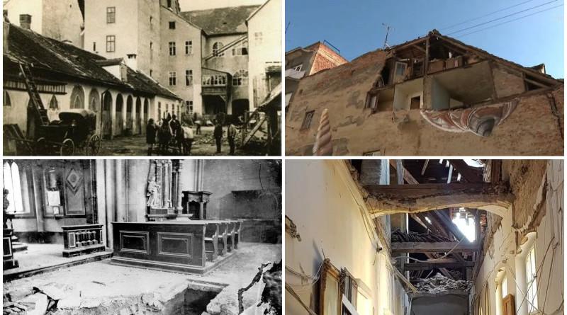 potres, zagreb 1880, potres 2020