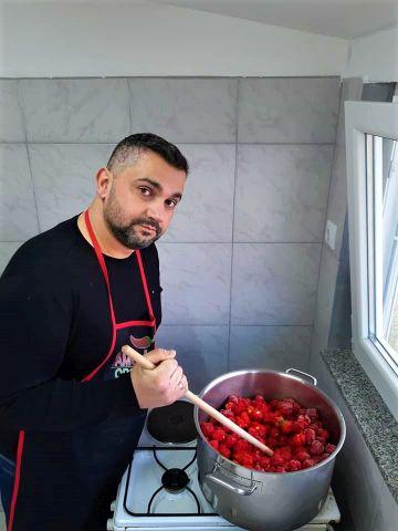 OPG Barišec, Kuhanje umaka