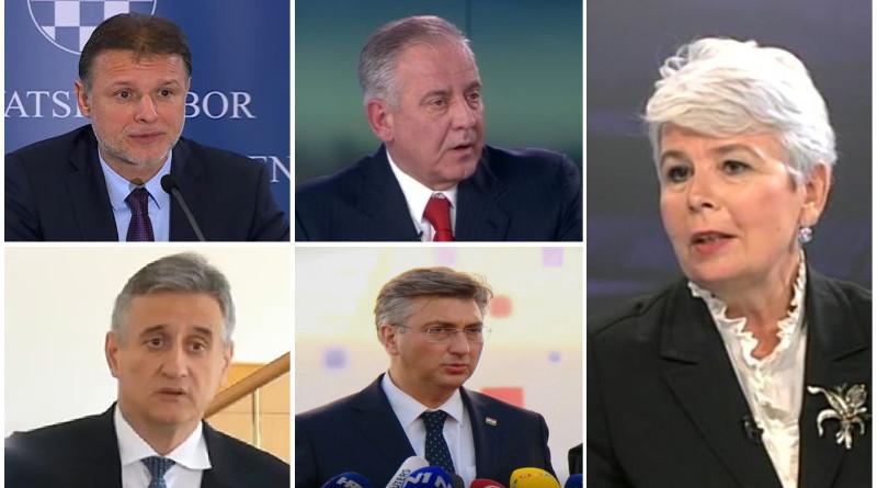 kosor, jandroković, plenković, sanader, karamarko