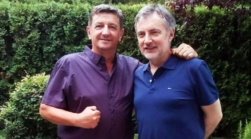 General Sačić s Miroslavom Škorom, čelnikom Domovinskog pokreta (Foto: Facebook)