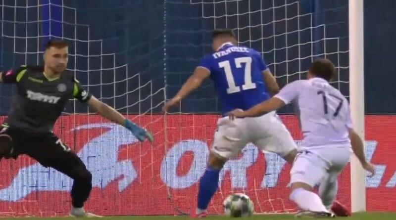 Luka Ivanušec zabija za 1:0