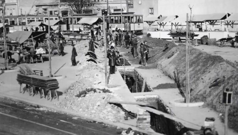 Na Kvaternikovom trgu uređivala se 1930. godine kanalizacija