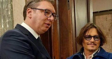 VIDEO: JOHNNY DEPP U BEOGRADU – Sastao se i s predsjednikom Srbije Vučićem